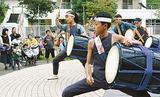 会場を盛り上げた「昇龍」の太鼓演奏
