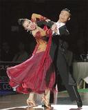 優勝した小嶋さん(右)と盛田さんのペア(写真提供・日本ダンススポーツ連盟)