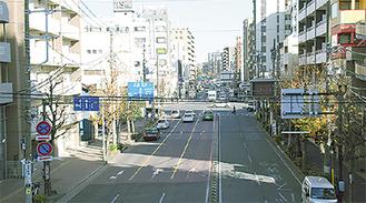 吉田新田の地域(吉野町)