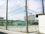 照明が設置されることになった蒔田中学校の校庭