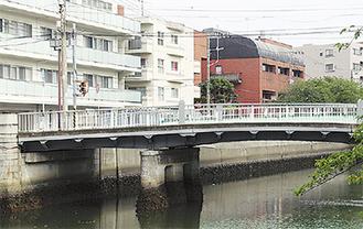 震災復興橋梁の山王橋