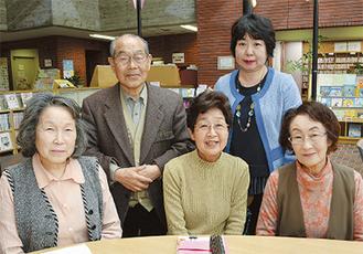 渡辺さん(後列左)とメンバー