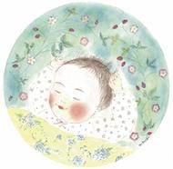 弘明寺で優しい子どもの絵展示