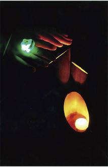 区長賞に選ばれた小林さんの作品「ぬくもり」