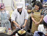 中国人から料理学ぶ