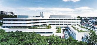病床300床、駐車場200台と広大な同センター