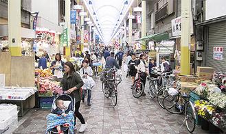 空き店舗対策を進める横浜橋通商店街