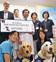 子ども支える犬に支援金