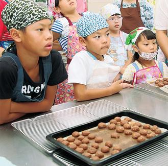 クッキーを作った子どもたち