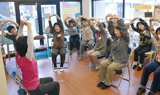 介護予防につながる体操