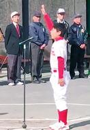 少年野球大会21チーム争う
