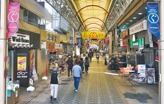 キャッシュレス決済に力を入れる弘明寺商店街