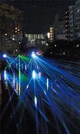 大岡川が光り輝く