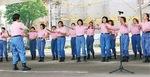 女性団員による「声楽隊」