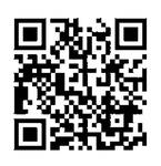 粟津さんの動画が見られるQRコード