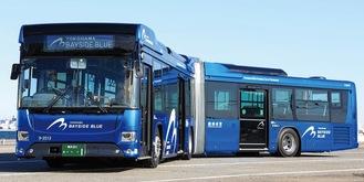 鮮やかな青の車体が特徴(市交通局提供)