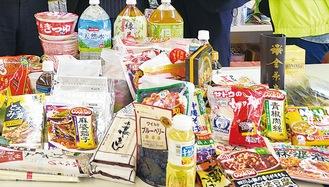 募集対象食品の例