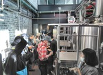 「NUMBER NINE BREWERY」の様子