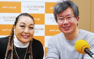 湯川さん(左)と矢口さん