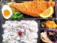 肉系、魚系のメニューが豊富にそろう 横浜市南区永田東の弁当店「きよっかつ」のサバ唐揚げ
