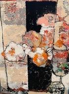 別所中里台の画家・伊藤久美子さんの個展 2月19日から中区日本大通りで
