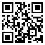 クラウドファンディングのサイトにつながる二次元コード