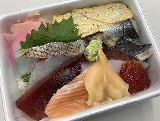 海鮮丼(900円)