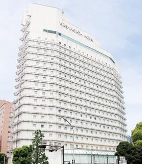 2021年末で営業を終了する横浜伊勢佐木町ワシントンホテル