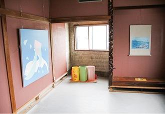 和室を改装した部屋