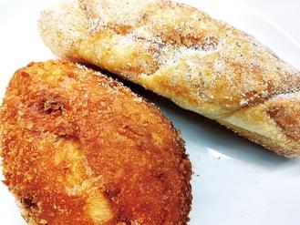 カレーパンとあげパン