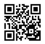 「ちあふぁみ!」のWebサイトにアクセスする二次元コード