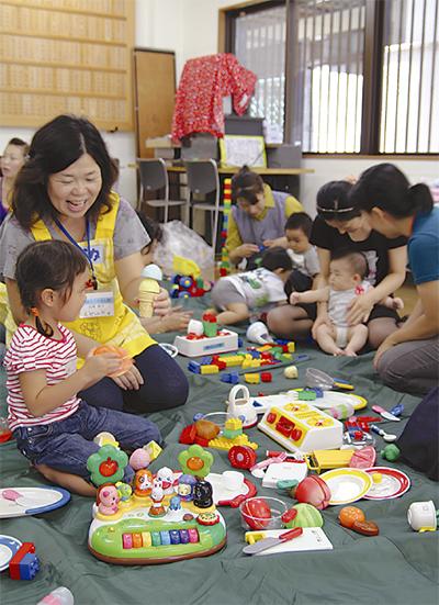 太田東部に子育てサロン