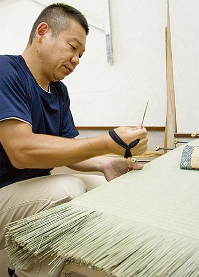 創業130年老舗畳店の挑戦「こだわりの国産畳を」