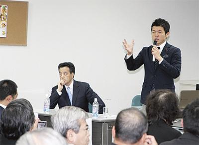 三村議員が国政報告