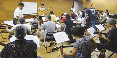 ギター講習の成果発表