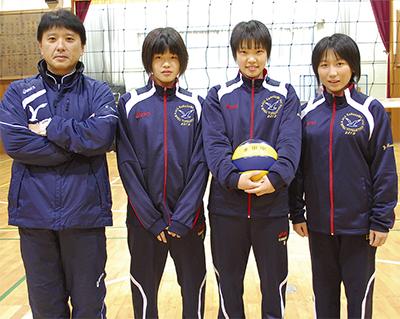 永田の3選手 全国へ