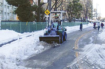 南区会が除雪で奮闘