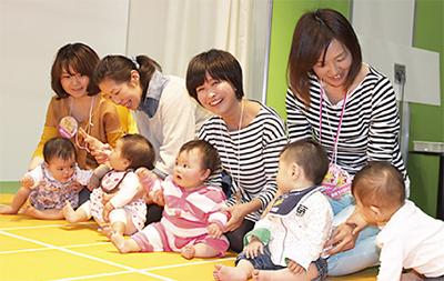 出産・子育て情報を紹介