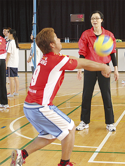 スポーツで難民支援