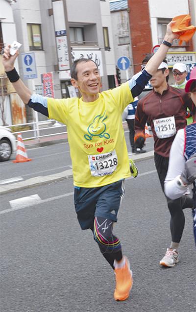 医師が横浜マラソン力走