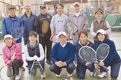 シニアテニス会が10周年