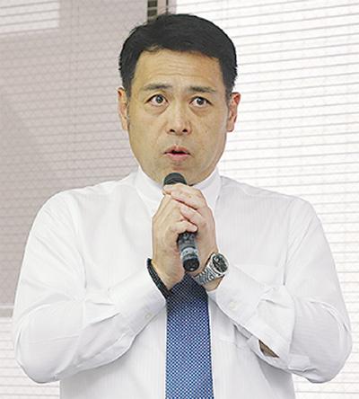 区商連新会長に長谷川氏