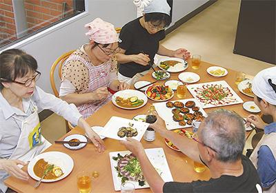 メカジキ食べて復興支援