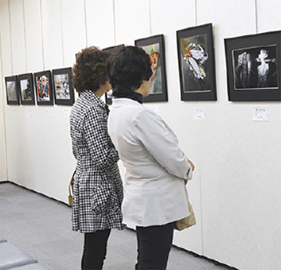 写真愛好団体が作品展