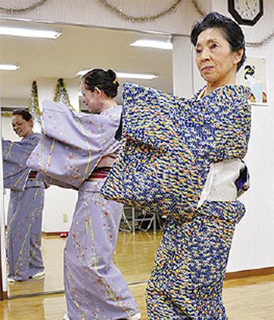 始めませんか日本舞踊