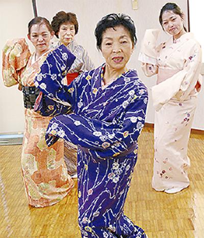 日本舞踊の無料体験会