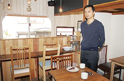 唐沢の空き家にカフェ