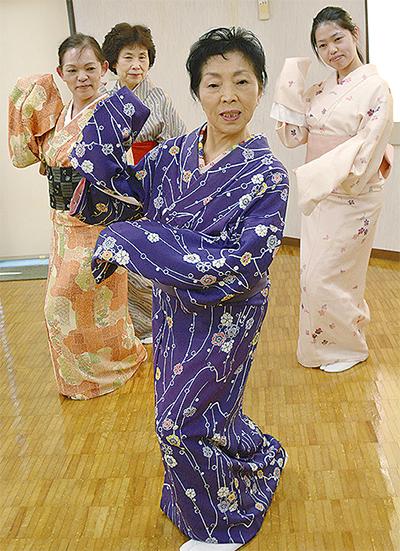 日本舞踊の魅力伝える