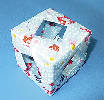 香る器、和紙で作る