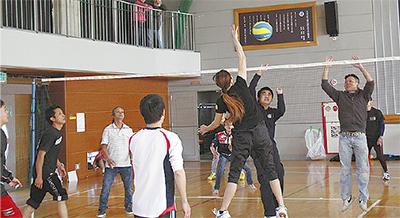 定住難民とスポーツ交流